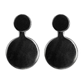 Simple Being Hematite 2 in 1 Earrings