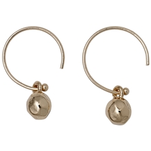 Orb Earrings Rose Gold