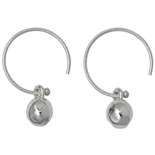 Orb Earrings Silver