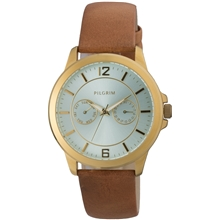 Classic Leather Brown Watch