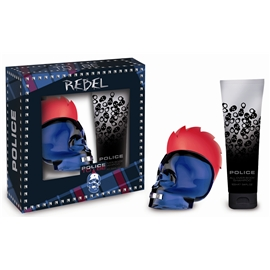 Police To Be Rebel - Gift Set