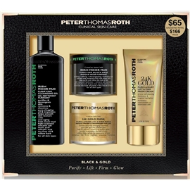 Black & Gold Kit - Purify, Lift, Firm, Glow