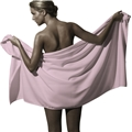 SPA Bath Towel Pink