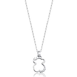 513564500 Silver Silueta Necklace