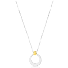 613254500 Silver and Vermeil Origen Necklace