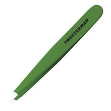Slant Tweezer Green Apple