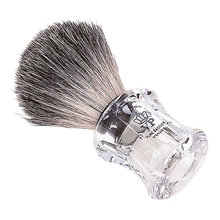 Shaving Brush Badger Clear
