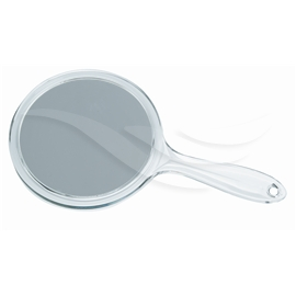 Magnifying Hand Mirror 3x - Acrylic Glass