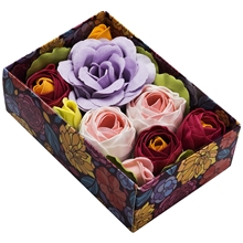 Bath Flowers In A Box