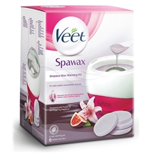 Veet Spawax - Stripeless Wax Warming Kit