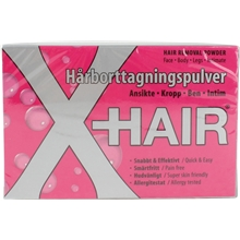 X-Hair - Hair Removal Powder Kit
