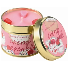 Tin Candle Cherry Bakewell - Cherry Berry