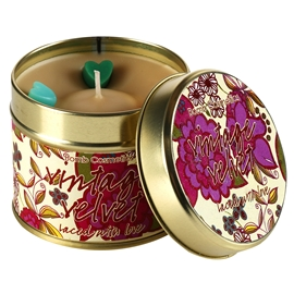 Tin Candle Vintage Velvet - Laced With Love