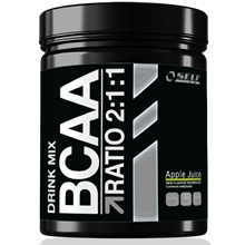500 gram - Raspberry - Bcaa Drink Mix 2:1:1