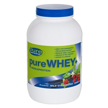 1 kg - Wild strawberry vanilla - Pure Whey
