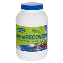 2 kg - Wild strawberry vanilla - Pure Recovery 2kg
