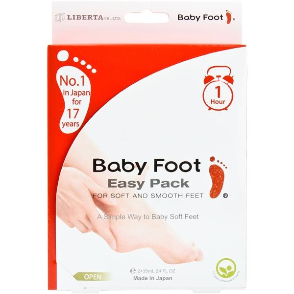 Baby foot fotvård