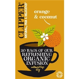 Clipper orange-coconut