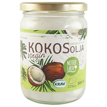 Kokosolja Virgin RAW KRAV