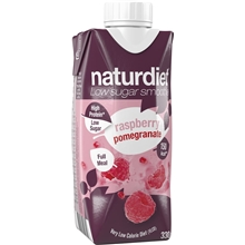 330 ml - Granatäpple-hallon - Naturdiet Smoothie