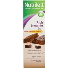 2 st/paket - Brownie - Nutrilett Hunger Control Bar 2-pack