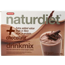 12 portioner - Chocolate - Naturdiet drinkmix