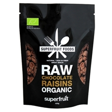 Raw Chocolate Raisins Organic