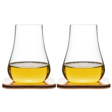 Club whiskeyprovarglas set 2-pack