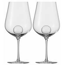 Air Sense Rödvins glas 843 ml 2-pack