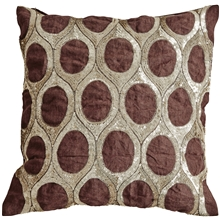 Oval Cushion Cover