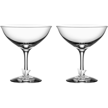 Symbols Butterfly Champagne Coupe 2-pack
