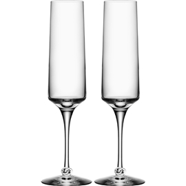 Symbols You & Me Champagne Flute 2-pack