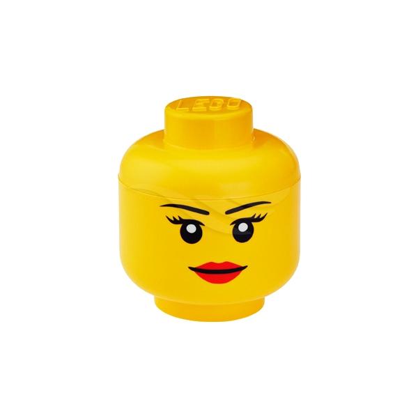 Lego Förvaring Huvud Stort ~ LEGO Förvarings huvud Lådor& Korgar LEGO Shopping4net