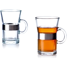 2 st/paket - Klar - Grand Cru Hot drink 2-pack / Caféglas 4-pack