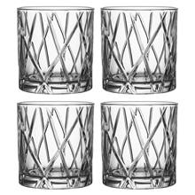 City Whiskeyglas DOF 4-pack