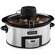 Crock-pot Slowcooker 5,7L Timer omrörningsfunktion