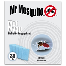 Mr Mosquito Refill 30 st/paket