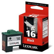 Lexmark Ink No 16 Black 010N0016E