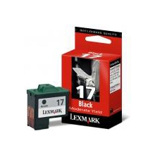 Lexmark Ink No 17 10NX217E Black 010NX217E