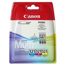 Canon Ink CLI-521 C/M/Y Value Pack 2934B007