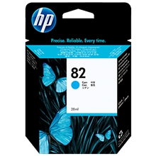 HP Ink No 82 Cyan C4911A