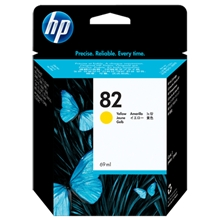HP Ink No 82 Yellow C4913A