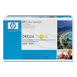 HP Toner C9722A Yellow