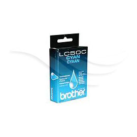 Brother Ink LC50C Cyan
