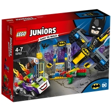 10753 LEGO Juniors Jokern Attack Batgrottan