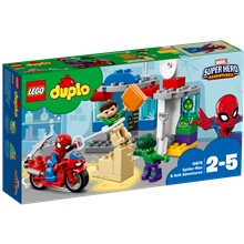10876 DUPLO Super Hero Spider Man & Hulks