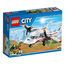 60116 LEGO City Ambulansflygplan
