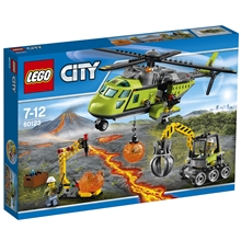 60123 LEGO City Vulkan transporthelikopter