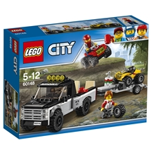 60148 LEGO City Fyrhjulingsracerteam