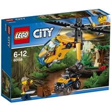60158 LEGO City Djungel Transporthelikopter